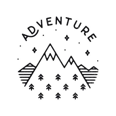 Inspirational vector illustration - Adventure Illustration