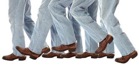 boots advancing symbolize progress and accomplishment needed for organized successful accomplishment