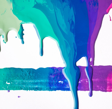 Background with colorful streaks of paint