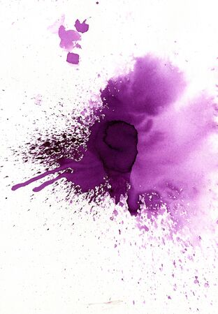 original background multicolored watercolor splash and drips