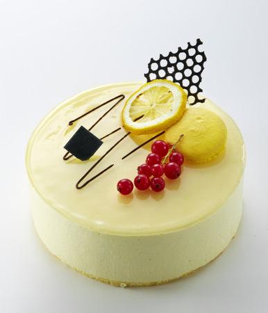 lemon cake: round Lemon cake