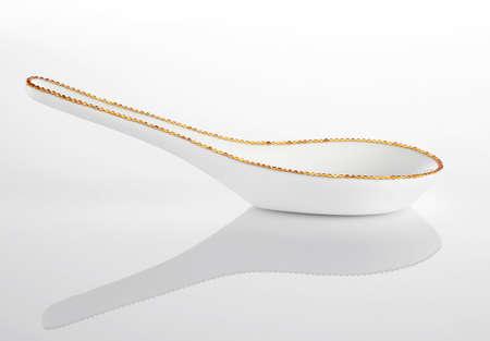 Luxury ceramic tableware ,spoon