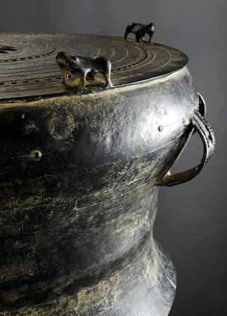 Chinese cultural relics, bronze drum
