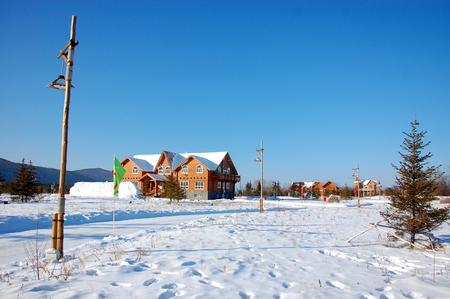 snow ground: Snow on the ground