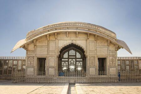 Naulakha Pavilion in Lahore Fort Standard-Bild