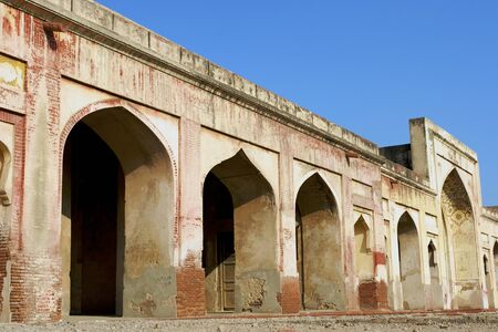 Archways in Lahore Fort.