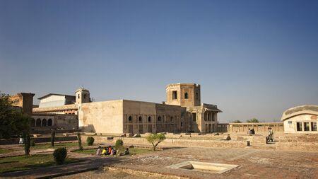 Courtyard in Lahore Fort Reklamní fotografie