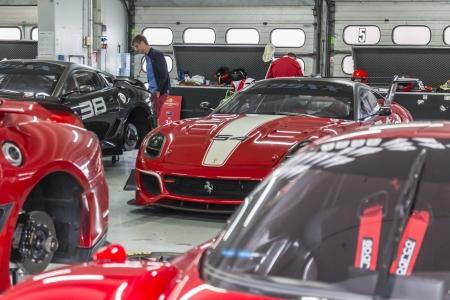 corse: Hockenheimring in Box Corse Clienti
