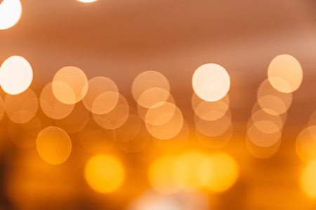 Colorful bokeh of light, with copyspace for advertising.