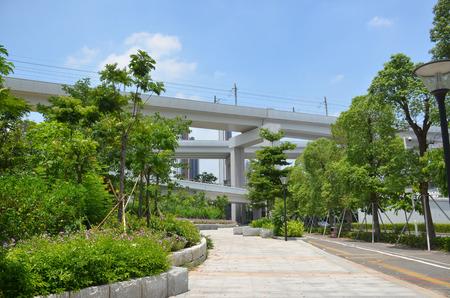 overpass: Shenzhen north station overpass