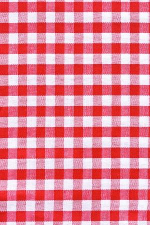 Rote und weiße Tischdecke Provence-Stil