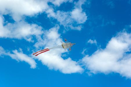 Kite flying Stock Photo - 5221245