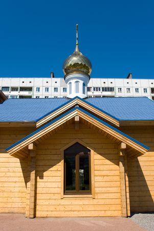 pfingsten: Russische orthodoxe Pfingsten-Kapelle in Sankt-Petersburg, Russland