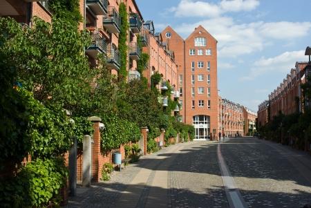 Teerhof street in Bremen (Germany)