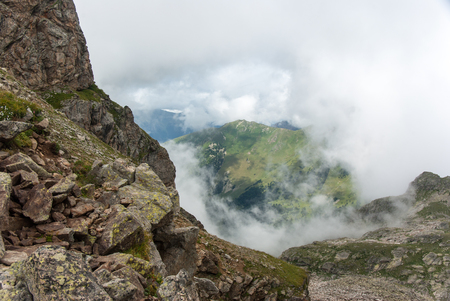 Greater Caucausus mountain in Arhyz, Russia