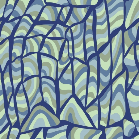 vector seamless abstract hand-drawn pattern  Illustration
