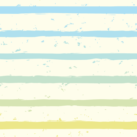 postcard background: Striped seamless pattern. Horizontal brush strokes repeating background. Vector illustration.
