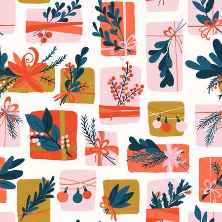 Holiday Gift Box Pattern