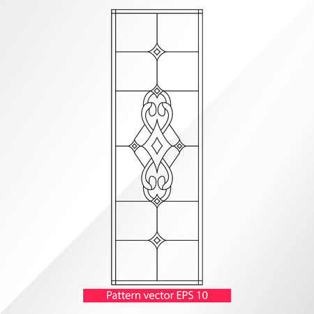 Ornament and decor, design elements. Decoration of the page. Vector illustration. Isolated on light background