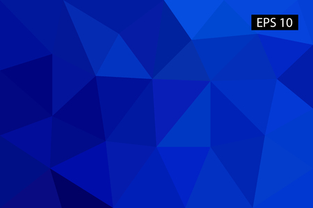 Abstract geometric background, vector from polygons, triangle, vector illustration, vector pattern, triangular template Çizim
