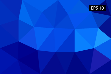 Abstract geometric background, vector from polygons, triangle, vector illustration, vector pattern, triangular template Ilustração