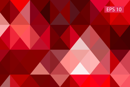 Abstract geometric background, vector from polygons, triangle, vector illustration, vector pattern, triangular template Illustration