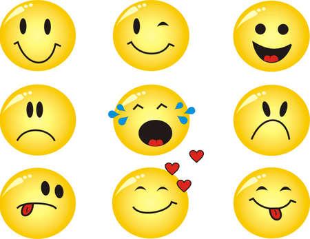 amabilidad: Cool emoticonos