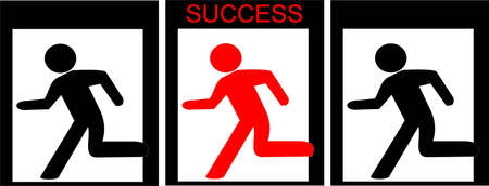 way to success Illustration