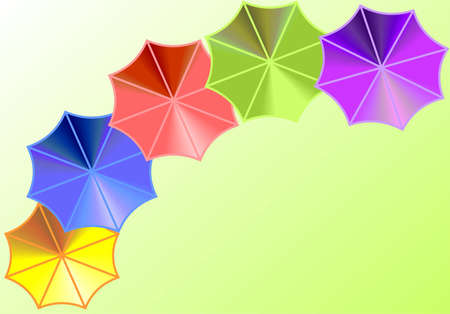 Umbrella background Illustration