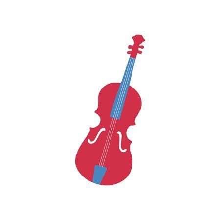 Hand-drawn synthesizer icon. Symbol of a musical instrument. Vector illustration Illusztráció