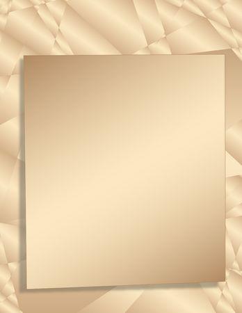 Beige fractals. Background. Digital illustration. Imagens