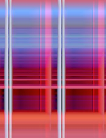 Abstract 3-d digital illustration. Window.