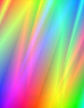 Abstract 3-d digital illustration. Rainbow Rain. Reklamní fotografie