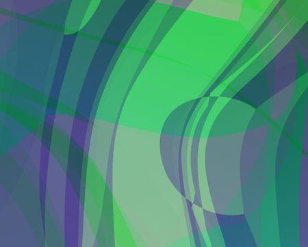 Abstract illustration: green-purple-blue. Bright. Zdjęcie Seryjne