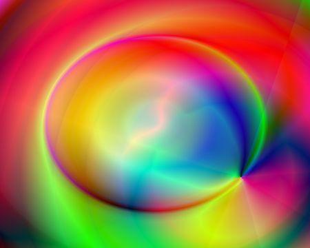 Abstract illustration: rainbow lightning. Bright. Zdjęcie Seryjne