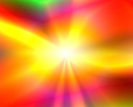 Abstract illustration: shining sun. Bright. Zdjęcie Seryjne