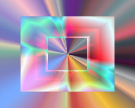 Abstract illustration: plastic rectangles. Bright. Zdjęcie Seryjne
