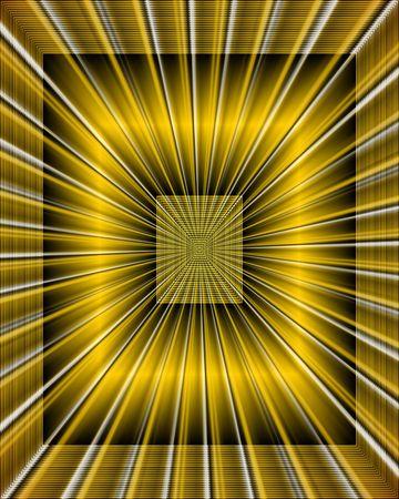 Sparkling symmetrical fractals. Digital illustration.