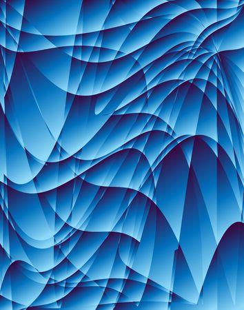 嵐フラクタルを抽象化します。デジタル イラストです。複数のテクニック。 写真素材