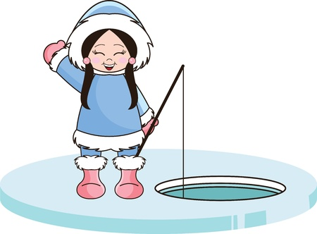 1 502 ice fishing stock illustrations cliparts and royalty free ice rh 123rf com ice fishing clip art free cartoon ice fishing clipart