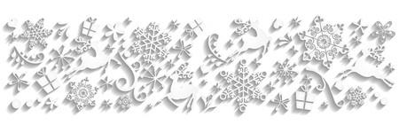 sylvester: Magic christmas background Stock Photo