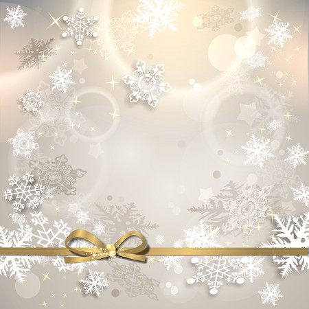 magical: magical background with stars and snowflakes