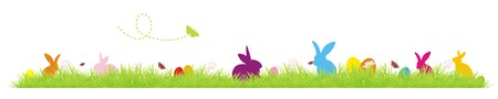funny easter background