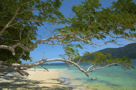 Landscapes of the Adaman sea, to the Lipe, Thailand photo