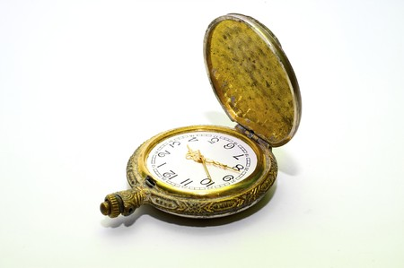 Old pocket watch passing by right of succession