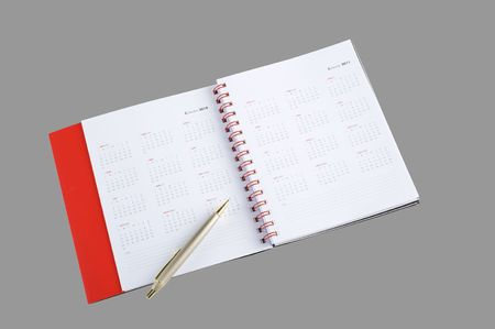 The stylish notebook for business Stock Photo - 6260546