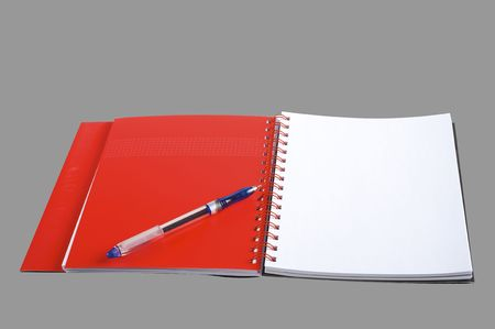 The stylish notebook for business photo