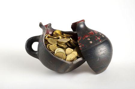 Kazakhstan tenge gets enough sleep from an old jug photo