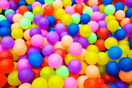 Color balls. bright colors background photo