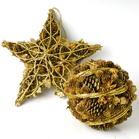adorning: Christmas toys for adorning the house